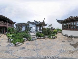 苏州园林景观全景