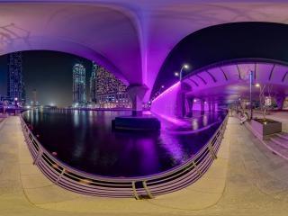 迪拜运河虚拟旅游