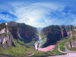 八泉峡景区虚拟旅游