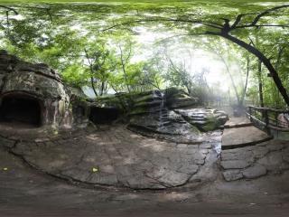 三仙洞全景