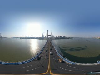 武汉长江二桥1全景