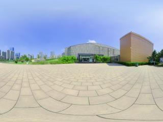 赖少其艺术馆南广场全景