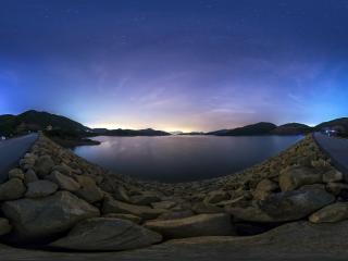 河北—石家庄夜景全景