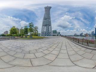 广州塔全景全景