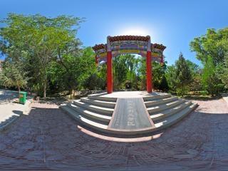 生态园广场全景