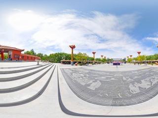 丝绸之路景观图全景