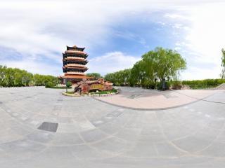 中国边塞诗展览馆全景