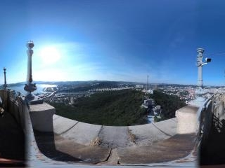 塔顶俯瞰旅顺节点一全景