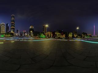 珠江夜景(一)