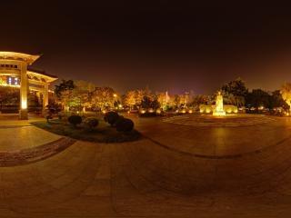 珠江夜景全景