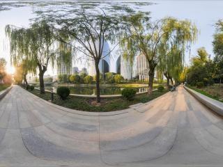 北京—亮马河畔之秋
