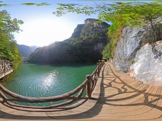 白龙湖全景