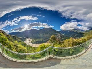 观山台全景