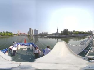 海河日景—三岔河口全景