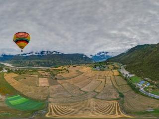 热气球全景
