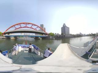 海河日景—金钢桥全景