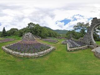 主题纪念花园全景