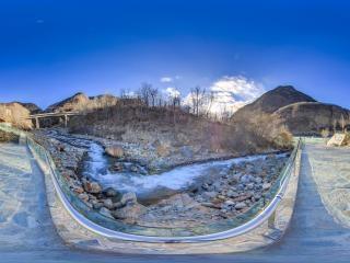 峡谷康养温泉全景