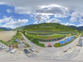 喜马拉雅大峡谷酒店航拍全景