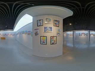 第三节少儿美术展(十六)全景
