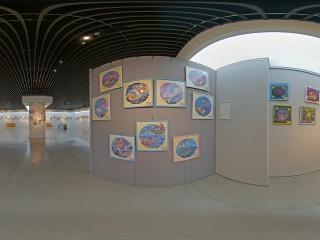 第三节少儿美术展虚拟旅游