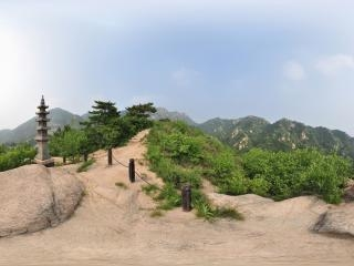 云峰山全景