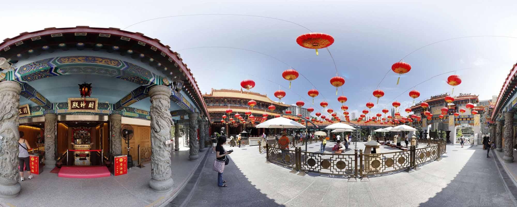黄大仙虚拟旅游
