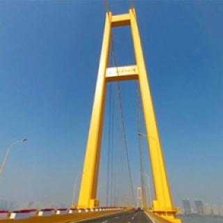 杨泗港长江大桥虚拟旅游