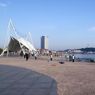 烟台滨海广场虚拟旅游