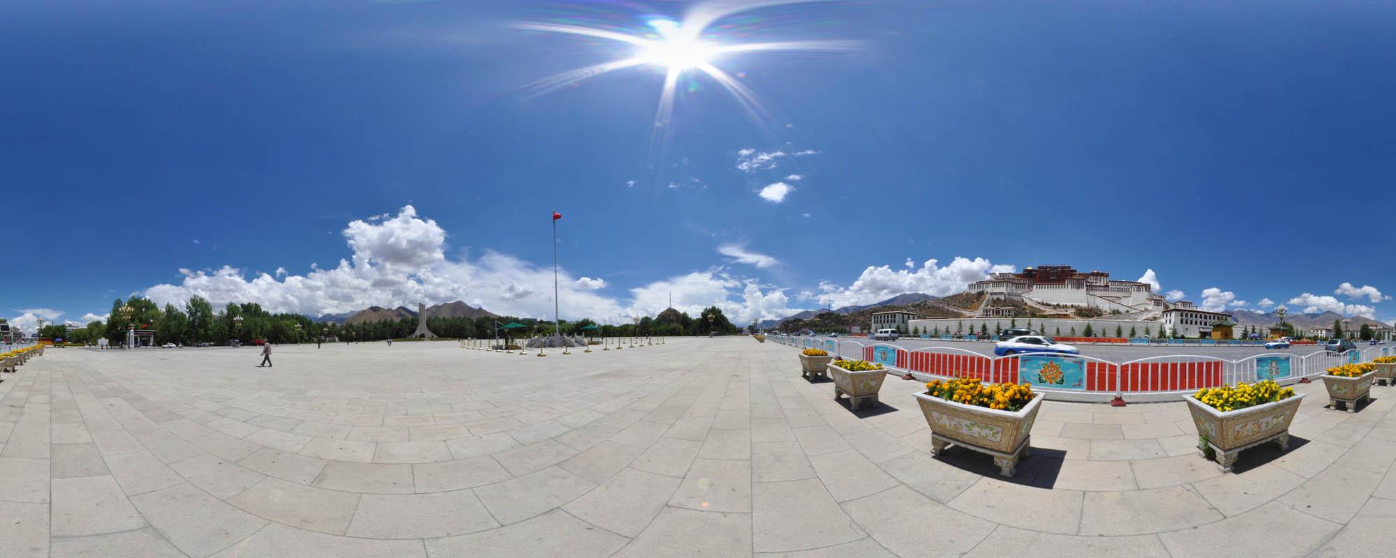 拉萨虚拟旅游