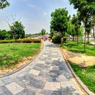 商丘古城南湖虚拟旅游